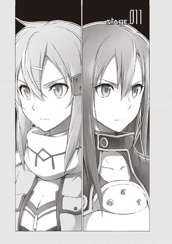 File:Sinon and Kirito on the opening of Phantom Bullet Stage 11.png