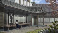 Kirigaya Residence - porch and dojo