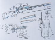 Sterben Design Works II artbook Gun 2