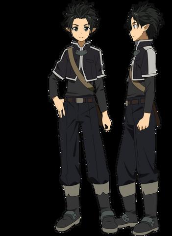File:Kirito's Initial Avatar Full Body.png