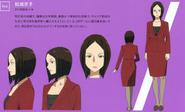 Yuuki Kyouko's character designs (booklet)