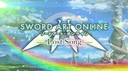 Sword Art Online Lost Song PV2