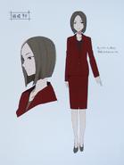 Second Season Animation Art Book Kyouko concept