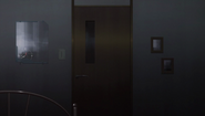 Kirigaya Residence - door to Kazuto's room from inside