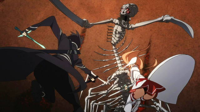File:EP13 The Skull Reaper fighting .png