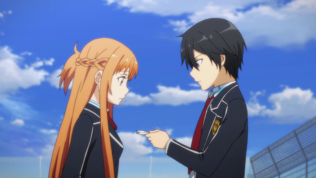 File:Kazuto giving Asuna an address to a hospital.png