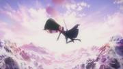 Kirito-Liz falling