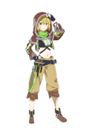 Argo Hollow Realization character design