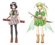 Web Suguha and Leafa