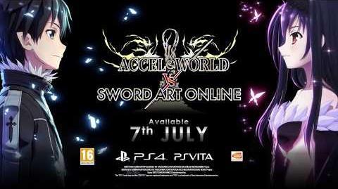 PS4, PS VITA Accel World VS Sword Art Online - The Witch of Twilight (EN)