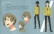 Shinkawa Kyouji character design (booklet)