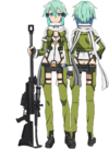 Sinon's GGO Avatar Full Body
