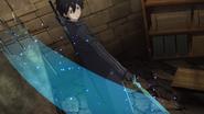 Kirito and Dark Repulser