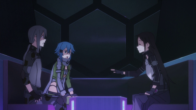 File:Kirito teasing Sinon in the waiting room.png