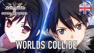 Accel World VS Sword Art Online - PS4 PS Vita - Worlds Collide (English Announcement Trailer)