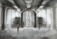 Floor 01 - The Boss Rooms Door-Design Works artbook