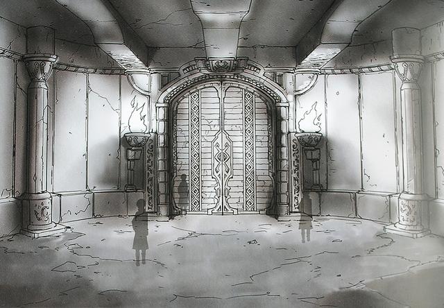 File:Floor 01 - The Boss Rooms Door-Design Works artbook.png