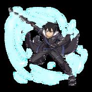 MD The Real Black Swordman - Kirito