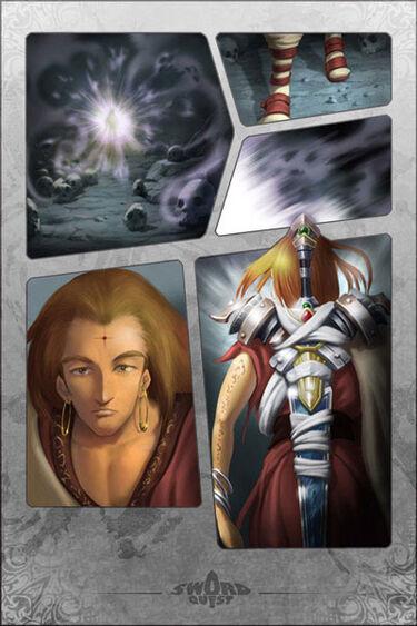 Sacred Edge of the Three Planes Manga