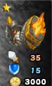 Scarlet Champion Armor Arena Icon
