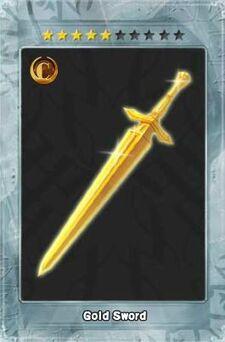 Gold Sword New