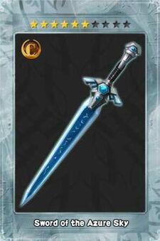 Sword of the Azure Sky New