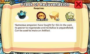 Flask of Rejuvenation Text