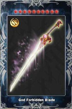 God Forbidden Blade