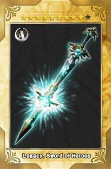 Legacy, Sword of Heroes New