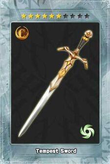 Tempest Sword New