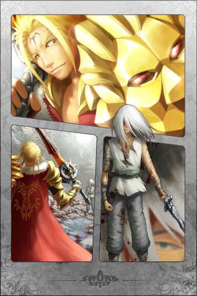 Dominion, The Sun Wheel Manga