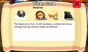 Titan Core Text