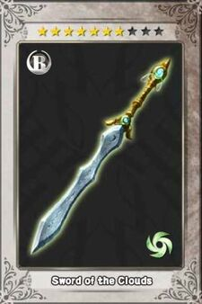 Sword of the Clouds New