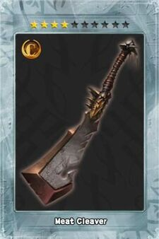 Meat Cleaver New