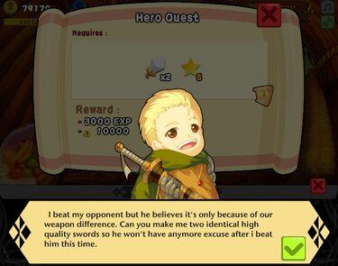Quest - Hero 8