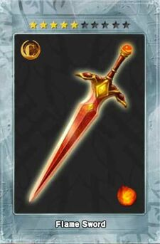 Flame Sword New