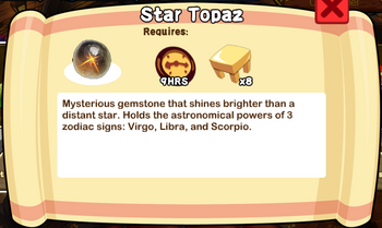 Star Topaz Text