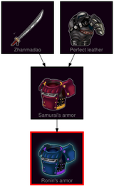 ResearchTree Ronins armor