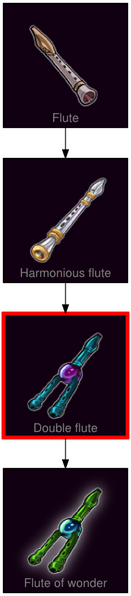 ResearchTree Double flute