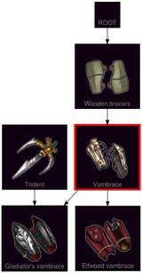 ResearchTree Vambrace