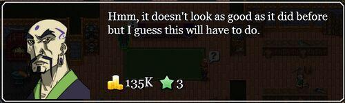 Broken relic quest result