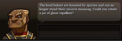 Annoying spirites start
