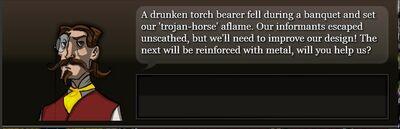 Metal horse quest