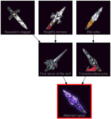 ResearchTree Adamant spear