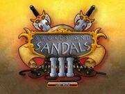 Swords sandals 3 multiplae ultratus