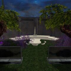 Anzat Spaceport Garden Ceremony Area