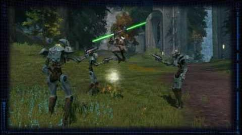SWTOR Jedi Consular Tactics - Force Wave