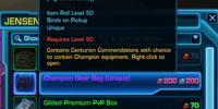 Centurion Commendation