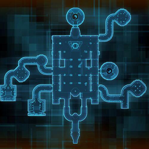 Dark Temple map
