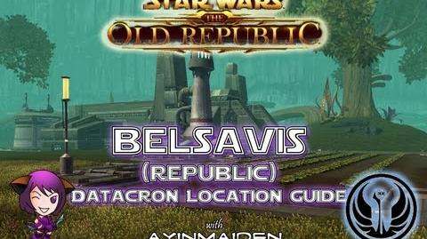 ★ SWTOR ★ - Datacron Location Guide - Belsavis (Republic)